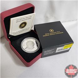 RCM 2012 $20 Fine Silver Coin Queen's Diamond Jubilee (99.99%)