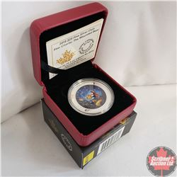 RCM 2015 $25 Fine Silver Coin - Star Charts : The Wounded Bear (99.99%)