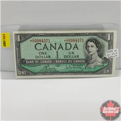 Canada $1 Bill 1954* Replacement Note (Bouey/Rasminsky) *CF0984371