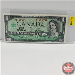 Canada $1 Bill 1967 (Beattie/Rasminsky) MP1710556