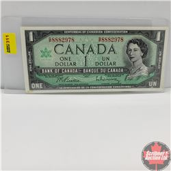 Canada $1 Bill 1967 (Beattie/Rasminsky) GP8882978