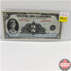 Bank of Canada $2 Bill 1935 (Osborne/Towers) A2955895