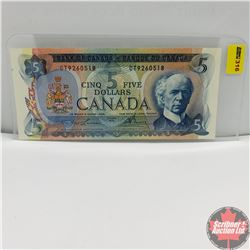 Canada $5 Bill 1972 (Lawson/Bouey) CT9260518