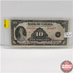 Bank of Canada $10 Bill 1935 (Osbourne/Towers) A841537
