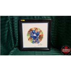 "Canadian Hockey Legends Collection ""Red Kelly"" Framed Limited Edition Print 357/1004  (16"" x 16"")"