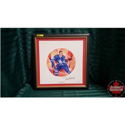 "Canadian Hockey Legends Collection ""Frank Mahovlich"" Framed Limited Edition Print 792/1027  (16"" x 1"