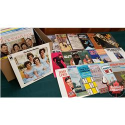 Box Lot: Variety Albums (55)