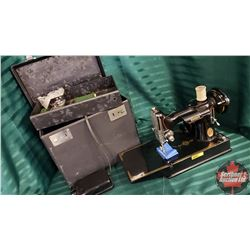 SINGER Portable Electric Sewing Machine Model 221-1 with Case