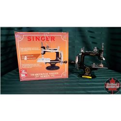 Mini Sewing Machine Model K-20 w/Box
