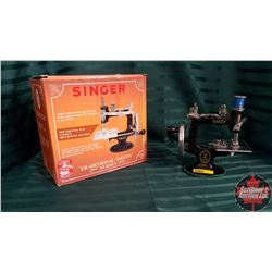 Mini Sewing Machine Model K-20 w/Box & Thread