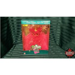 Barbie in Box : Happy Holidays Special Edition Rose de Noel