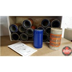 Tray Lot : Cylinder Records (15)