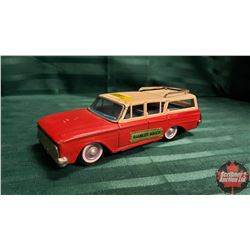 "Tin Toy Car ""Rambler Wagon"""