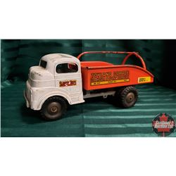 "Toy Truck : Structo ""Toyland Garage"" Dump Truck WIND UP !"