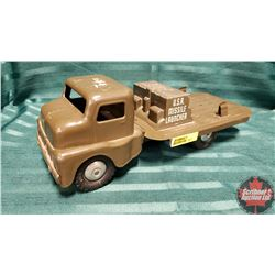 """Toy Truck : Structo """"U.S.A. Missile Launcher"""""""