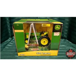 Farm Toy : John Deere 520 Tractor with Restoration Accessories (1/16 Scale)