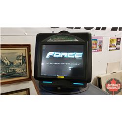 MEGATOUCH FORCE 2005 Elite Edge (Bar Top Coin Op Touch Screen Gaming Console)