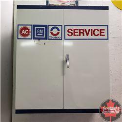 """GM Delco Service Cabinet (41""""H x 36""""W x 14""""D)"""