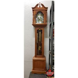 "Grandfather Clock ""Emperor"" (74""H x 16""W x 10""D)"