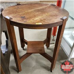 "Parlor Table (32""H x 27""D)"