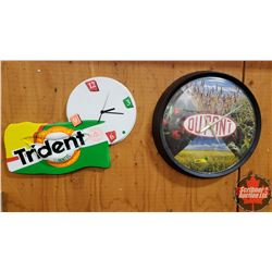 Wall Clocks (2) : Dupont & Trident
