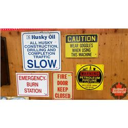 Safety Sign Collection (5)