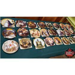 Norman Rockwell Collector Plates (24)