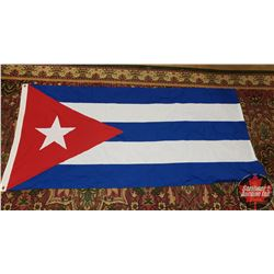 "Flag of Cuba (68"" x 33"")"