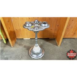 "Floor Ashtray (24""H) Playing Card Symbols"