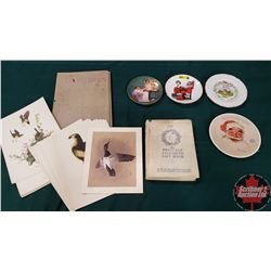 Book & Collector Plate Group (Includes Princess Elizabeth Gift Book)