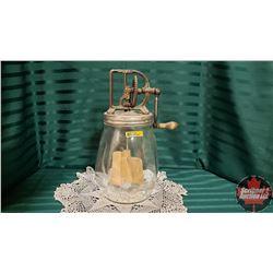 Dazey Glass Butter Churn