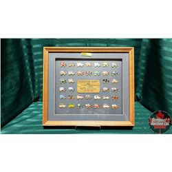 Rangeland Derby Pin Collection (Framed Limited Edition 1989) 277/450