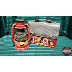 Barn Lunch Box & Mini Barn Lantern