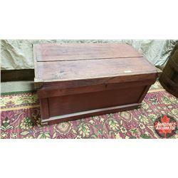 "Wood Trunk (36"" x 20"" x 17""H)"