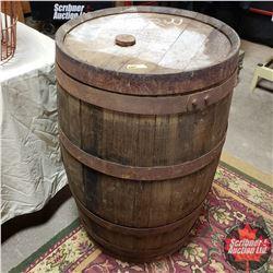 "Whiskey Barrel (35""H) Old Taylor Distillery"