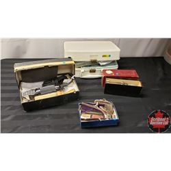 Collector Combo : Hair Dryer, Clippers (2 Varieties), Atomizer, Razor