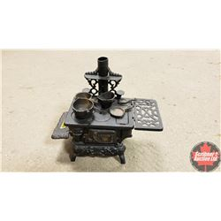 Cast Iron Toy Stove w/Accessories