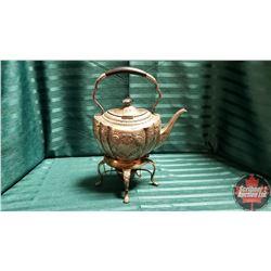 Silver Tea Pot w/Warmer