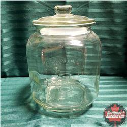 "Peanuts Counter Top Jar (12""H)"