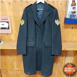 Military Uniform Long Coat - Canada