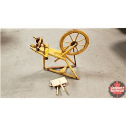 Spinning Wheel w/Carder