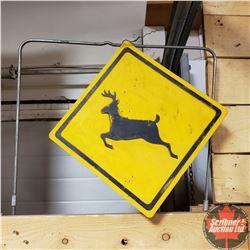 "Deer Target Sign (13"" x 13"")"