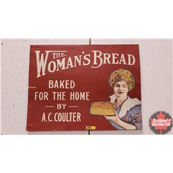 "Wood Sign ""The Woman's Bread"" (17"" x 22"")"