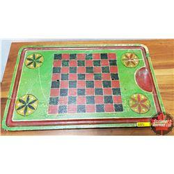 "Folk Art Check Board (13-3/4"" x 21-1/4"" x 1"")"