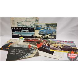 Automotive Ephemera (Variety 8pcs)