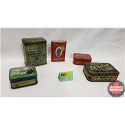Tobacco Tins (5)