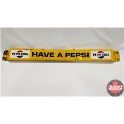 """""""Have A Pepsi"""" Door Push - Porcelain (31-1/2"""")"""