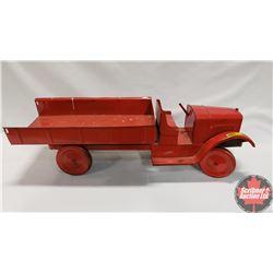 """Tin Toy Dump Truck (27""""L)"""
