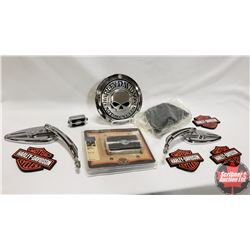 Harley Davidson Group (Mirrors, Cover Plate, Foot Pedals, etc)