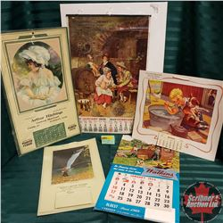 Vintage Calendar Collection (5)